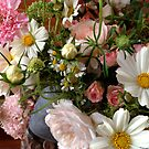 Pink and White Summer Bouquet by Barbara Wyeth