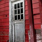 Door to Cider Mill by Pamela Burger