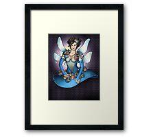 The Blue Fairy Framed Print