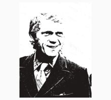 Steve McQueen Grins Like A Winner by Museenglish