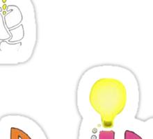 Animaniac - Good Idea Bad Idea Sticker