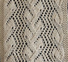 Leaf and Trellis Pattern by Linda Marques