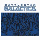 Battlestar Galactica Crew by Marjuned