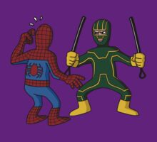 Kick-Ass vs Spiderman by jasesa