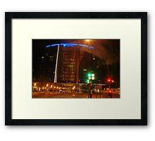 Park plaza Hotel in colors  Framed Print