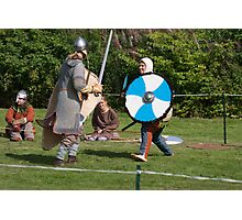 Medieval Fighters Photographic Print