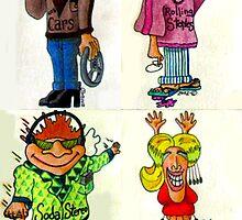 Rock Fans Five by Douglas Durand