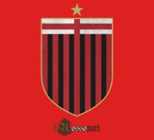 i Rossoneri by Calum Margetts Illustration