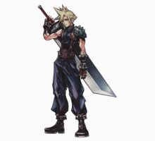 Final Fantasy VII - Cloud Strife by OkaNieba