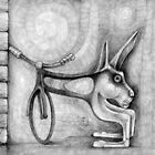 Rabbit Powered Bicycle. by - nawroski -
