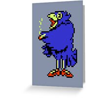 Crow - Mother / Earthbound Zero Greeting Card