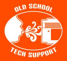 Old School Tech Support Kids Clothes