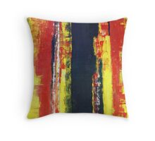 ABSTRACT UNTITLED V Throw Pillow