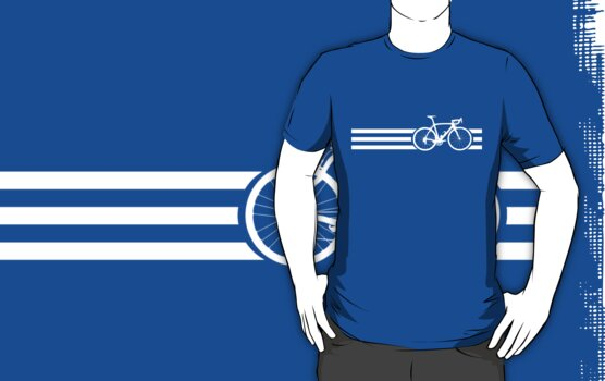 Bike Stripes White x 3 by sher00