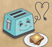 The Smitten Toaster by bsoti