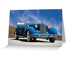 1934 Cadillac Convertible Sedan III Greeting Card