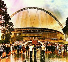 Wembley Way London England by EyeGrabber