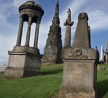 The Necropolis, Glasgow (1) by MagsWilliamson