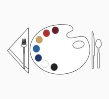 Paint Palette Dinner by artizek