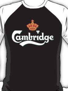 Cambridge white logo T-Shirt