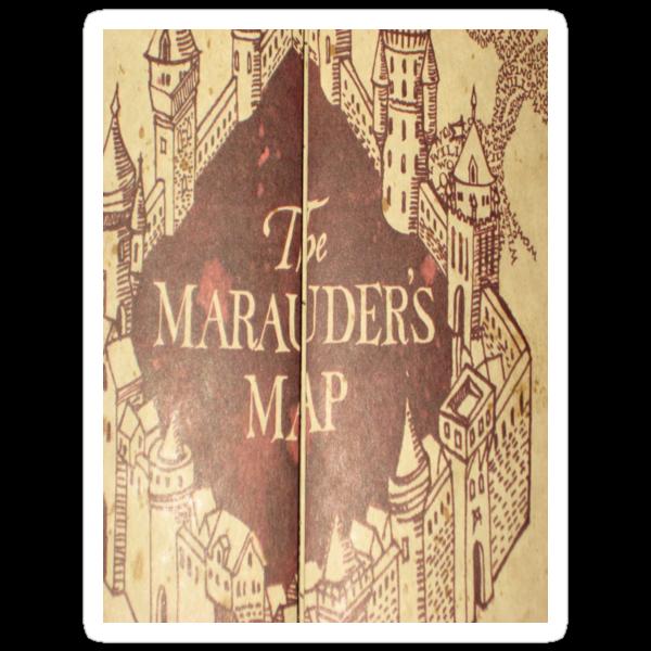 Harry Potter Marauder's Map by jjava