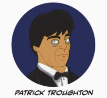 Doctor Who Stickers - Patrick Troughton by Donna Huntriss