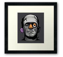 Mr Frankie Head Framed Print