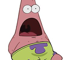 Patrick Star - Surprised Face by Marco Mitolo