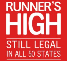 Runner's High. Still Legal in 50 States by sportsfan
