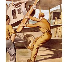 For Action Enlist In The Air Service by warishellstore