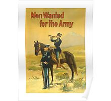 Men Wanted For The Army -- WWI Poster