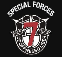 Seventh Special Forces by Walter Colvin