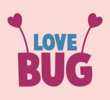 LOVE BUG! ladies or mens cute design with bug antennae by jazzydevil