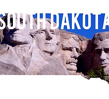 South Dakota - Mount Rushmore by Daogreer Earth Works