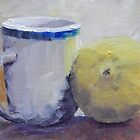 Cup and Lemon by Jaana Day