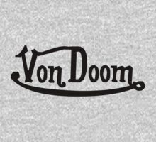 Von Doom Von Dutch black font by logo-tshirt