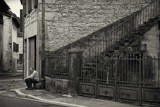 Old man Cerdon by Alan Robert Cooke
