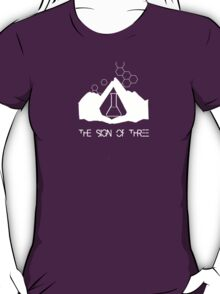 the sign of three // on dark colours T-Shirt