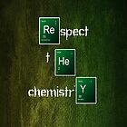Respect the chemistry breaking bad [read description please]  by eamon short