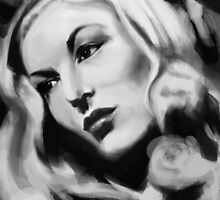 veronica lake by Philip Painter