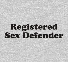 Registered Sex Defender by newgirlfans
