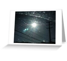 Sun Spears Greeting Card