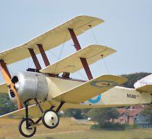 Sopwith Triplane replica by mike  jordan.