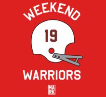 Weekend Warriors (Red/White) by Mark Omlor