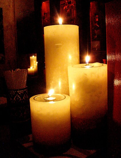 THE TEQUILA ROOM CANDLES by Rebecca Dru
