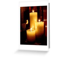 THE TEQUILA ROOM CANDLES Greeting Card