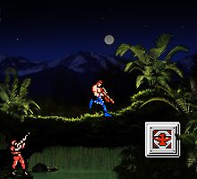 Contra - Stage 1 #retroreal by xnmex