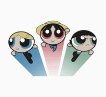 Powerpuff Crew by Arry
