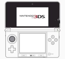 Nintendo 3DS Outline by SqueegeeLuigi