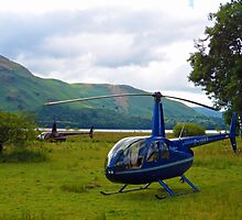 Copters - Derwent Water Lake District by liberthine01